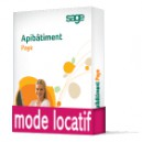 Sage Apibatiment Paye Evolution et Pack Déclarations Latitude BASIC Locatif (Cice, virements Ebics, Ducs, Dadsu, AED)