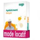 Sage Apibatiment Batigest standard Latitude CONFORT Locatif