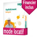 Sage Apibatiment Batigest standard Latitude CONFORT Locatif DUO : Batigest et Financier base