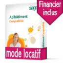 Sage Apibatiment Comptabilité standard Latitude TRANQUILITÉ Locatif DUO avec Financier
