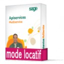 Sage ApiServices Multiservice Evolution Latitude BASIC Locatif