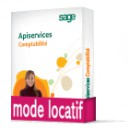 Sage ApiServices Comptabilité Evolution Ebics (sepa) Latitude BASIC Locatif