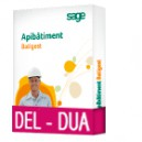 Sage Apibatiment Batigest Evolution BASIC DEL-DUA
