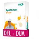 Sage Apibatiment Batigest standard CONFORT DEL-DUA