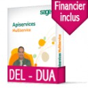 Sage ApiServices Multiservice Evolution DEL-DUA BASIC DUO  : Multiservice et Financier EDI